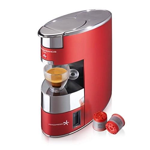 Illy 60178 Macchina Caffè IperEspresso, Rosso - Miglior Prezzo