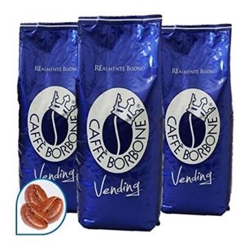 3 KG CAFFE IN GRANI BORBONE QUALITA' BLU – Miglior Prezzo