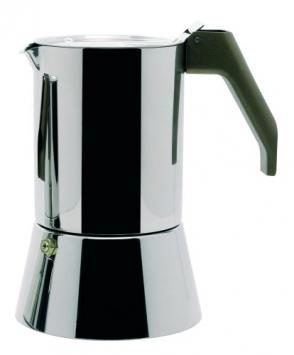 A di Alessi – ARS09/6 – Caffettiera espresso in acciaio inossidabile 18/10 lucido. – Miglior Prezzo