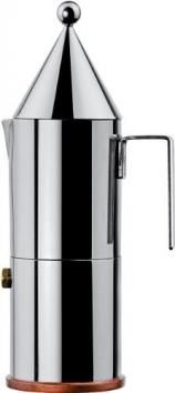 """Alessi 90002/6 Caffettiera Espresso """"La Conica"""", Acciaio Inox, 1 L, 6 Tazze – Miglior Prezzo"""