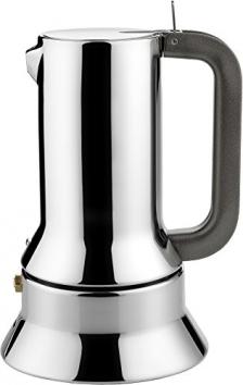 Alessi 9090/6 Caffettiera Espresso con Fondo Magnetico, in Acciaio Inossidabile 18/10, Lucido – Miglior Prezzo