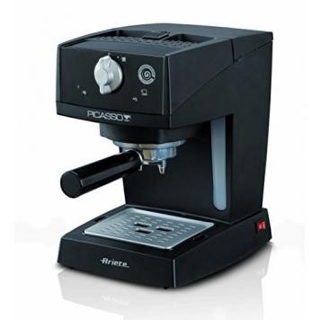 Ariete 1365, Macchina Espresso Nera, 0,9L – Miglior Prezzo