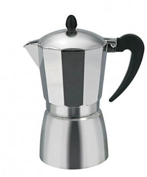 Borella Casalinghi 23598 Caffettiera, Alluminio, Grigio, 2 tazze – Miglior Prezzo