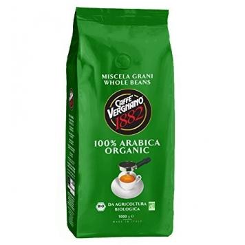 Caffè Vergnano 1882 Sacco Bio, 1 kg – 1 Pacchetto – Miglior Prezzo
