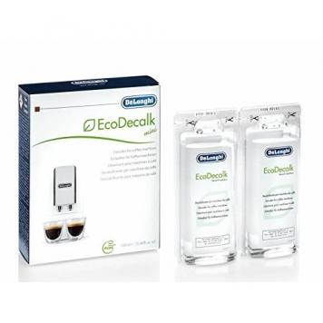 De'Longhi DLSC200 5513296011 EcoDecalk Mini Decalcificante Macchine caffe 2 x 100ml – Miglior Prezzo