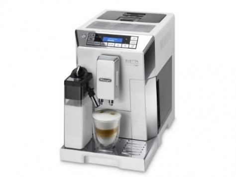 De'Longhi macchina per caffè espresso superautomatica ECAM45.760.W Eletta Cappuccino Top – Miglior Prezzo