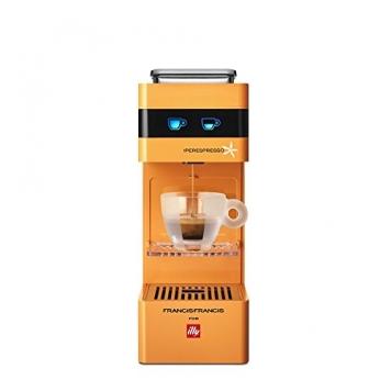 Francis Francis! 6741 Macchina da Caffè Espresso Y3 Iperespresso, 0.8 litri, Arancione – Miglior Prezzo