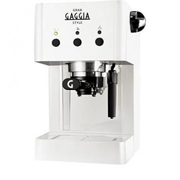 Gaggia Macchina per il Caffè Grangaggia Style, Bianco – Miglior Prezzo