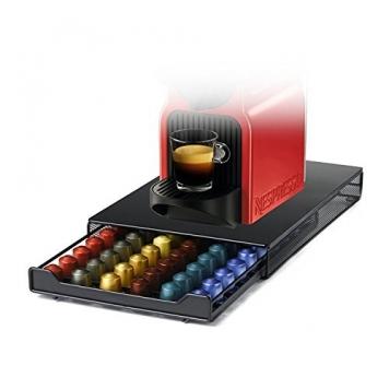 HiveNets Cassetto Porta Capsule Nespresso in Metallo Capacità 60 Capsule – Miglior Prezzo
