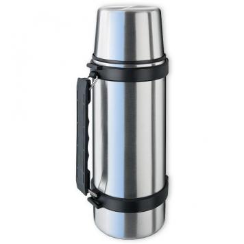 Isosteel VA-9553Q Thermos in acciaio INOX 1,0 L con sistema Quickstop, manico e bicchiere – Miglior Prezzo