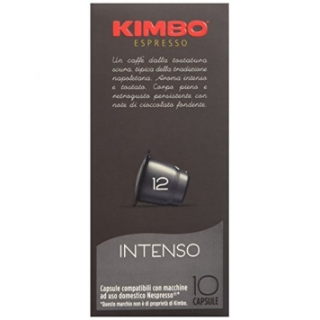 Kimbo Capsule Intenso Compatibili Nespresso, 12 Astucci da 10 Pezzi – Miglior Prezzo