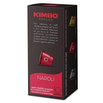 Kimbo Capsule Napoli Compatibili Nespresso, 12 Astucci da 10 Pezzi – Miglior Prezzo