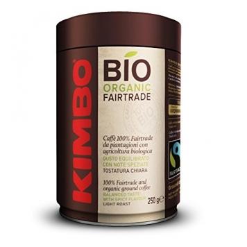 Kimbo Lattina Bio Organic Fairtrade Caffe – 250 gr – Miglior Prezzo