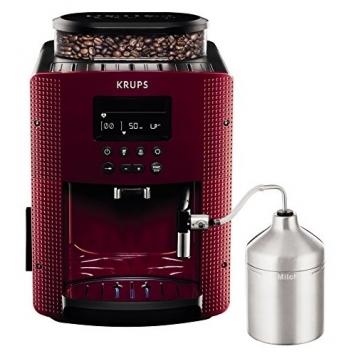 Krups EA816570macchine del caffè Espresseria Automatic Display, colore: rosso – Miglior Prezzo