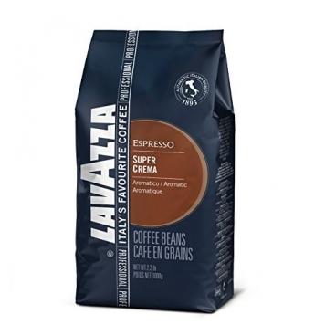Lavazza Caffè Espresso Super Crema, Caffè in Grani,8 Confezioni, 8 x 1000g – Miglior Prezzo