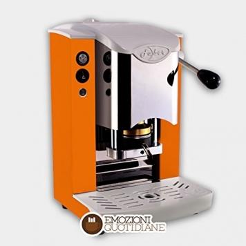 MACCHINA CAFFE A CIALDE IN CARTA ESE 44MM FABER SLOT INOX COLORE ARANCIONE – Miglior Prezzo