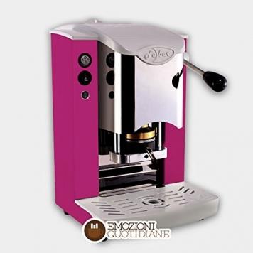 MACCHINA CAFFE A CIALDE IN CARTA ESE 44MM FABER SLOT INOX COLORE PORPORA – Miglior Prezzo