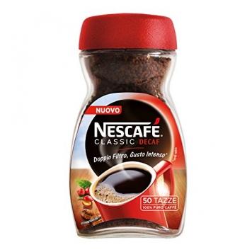 NESCAFÉ CLASSIC DECAF Caffè solubile decaffeinato barattolo 100g – Miglior Prezzo