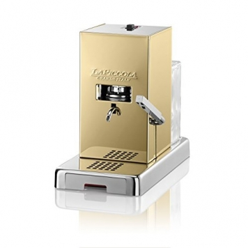 NOVITA' MACCHINA CAFFÈ A CIALDE LA PICCOLA GOLD + 18 CIALDE CAFFE' MUSETTI – Miglior Prezzo