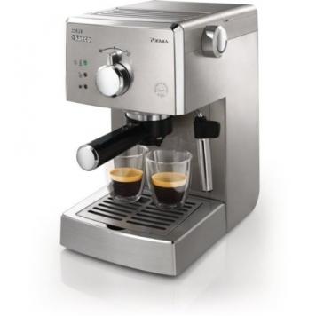 Philips Saeco HD8327/91 Poemia Top SS, Macchina per Caffè Espresso Manuale – Miglior Prezzo