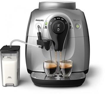 Philips Serie 2100 HD8652/51 Macchina da Caffè Automatica, con Macine in Ceramica, Sistema Easy Cappuccino con Caraffa Latte Esterna – Miglior Prezzo
