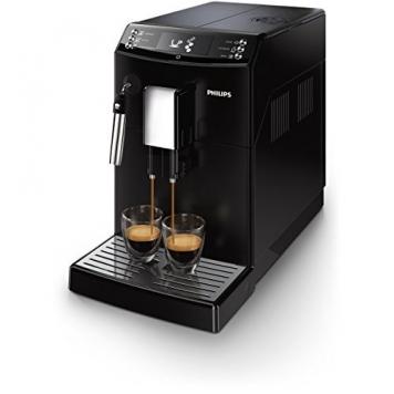 Philips Serie 3100 EP3510/00 Macchina da Caffè Automatica con Macine in Ceramica, Filtro AquaClean, Pannarello Classico – Miglior Prezzo