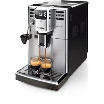 Saeco Incanto HD8914/01 Macchina da Caffè Automatica con Macine in Ceramica, Filtro AquaClean, Cappuccinatore Automatico – Miglior Prezzo
