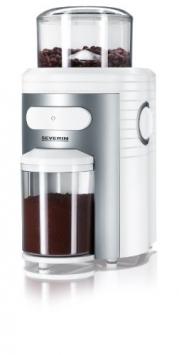 Severin KM 3873 Macinacaffè (Sistema Conico di Macinatura) 150W Bianco/Argento – Miglior Prezzo