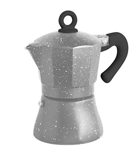 Borella casalinghi eva caffettiera alluminio grigio for Amazon casalinghi